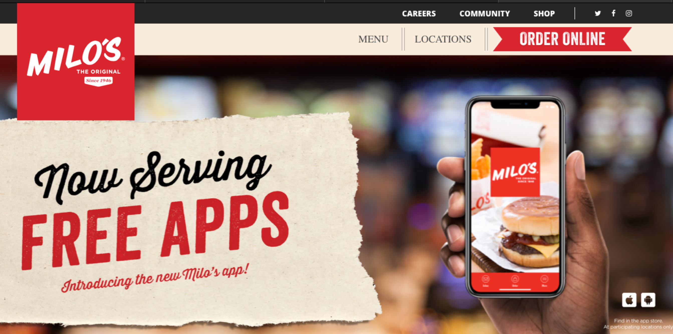 Integration with NCC POS & Launch of Mobile App & Online Ordering for Milos