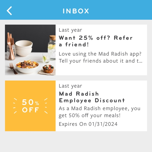 Mobile Inbox