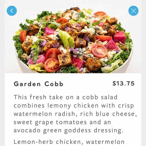 Our apps menus